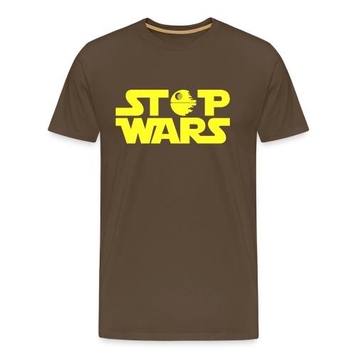 Stop Wars - Camiseta premium hombre
