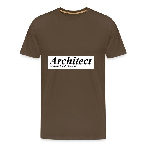 Architect - Men's Premium T-Shirt