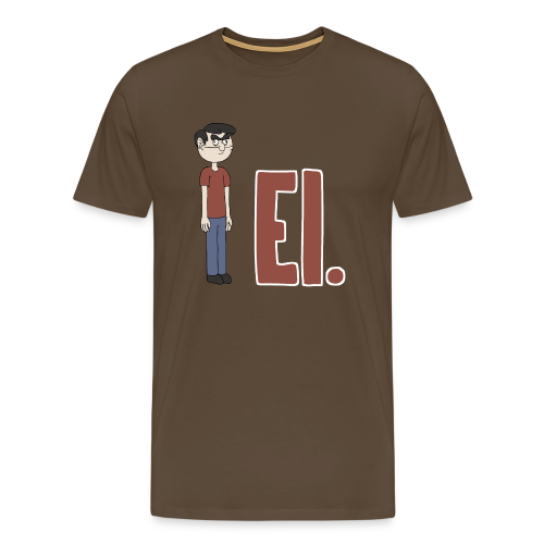 EI. - Miesten premium t-paita