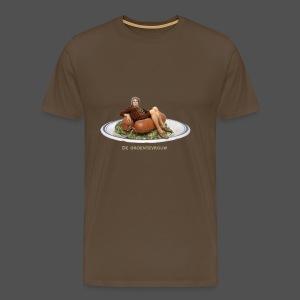 Rookworst - Mannen Premium T-shirt