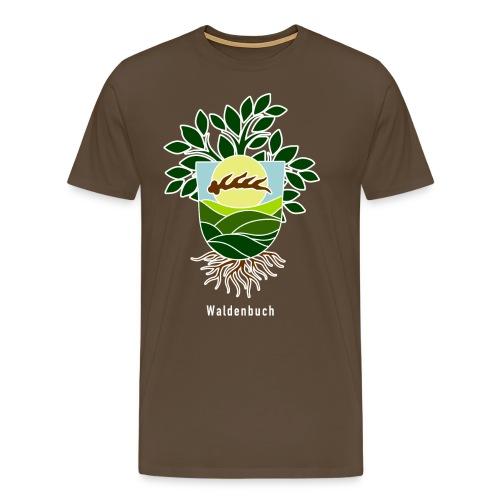 Neuinterpretierter Wabu-Schild - Männer Premium T-Shirt