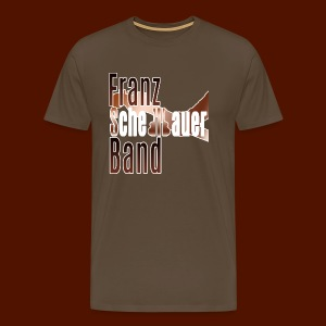 FSB logo brown - Men's Premium T-Shirt