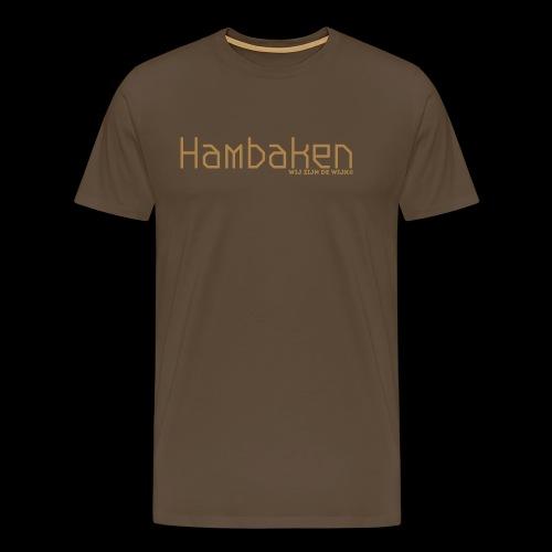 Hambaken Plasmatic Regular - Mannen Premium T-shirt