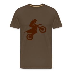 Motorcycle - Mannen Premium T-shirt