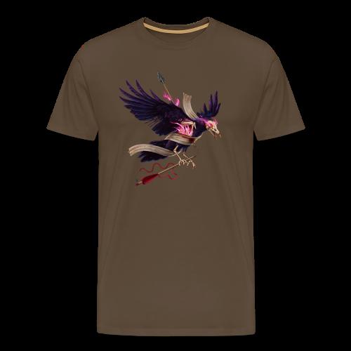 El cuervo zombie - Camiseta premium hombre