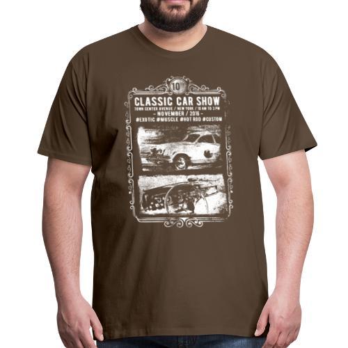Classic Car Show: Oldtimer in Aktion! - Männer Premium T-Shirt