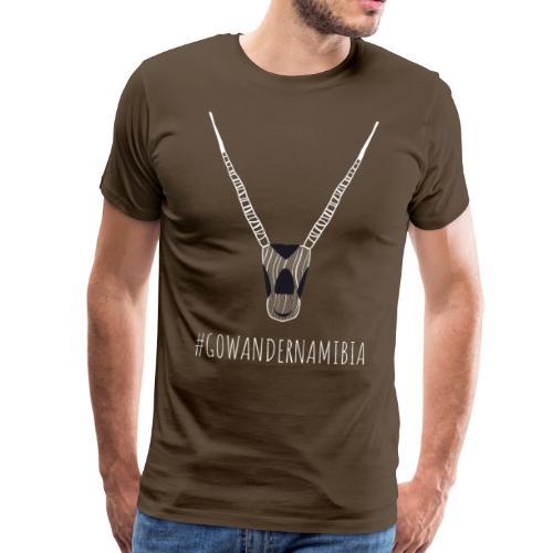 Go Wander Namibia! - Mannen Premium T-shirt