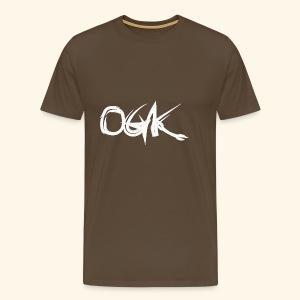 OGK white - Männer Premium T-Shirt