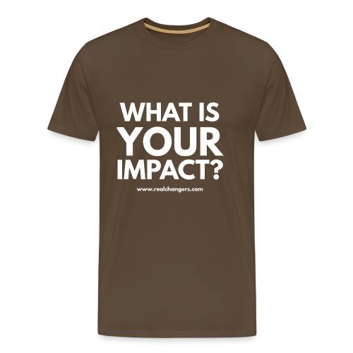 whatisyourimpact - Men's Premium T-Shirt