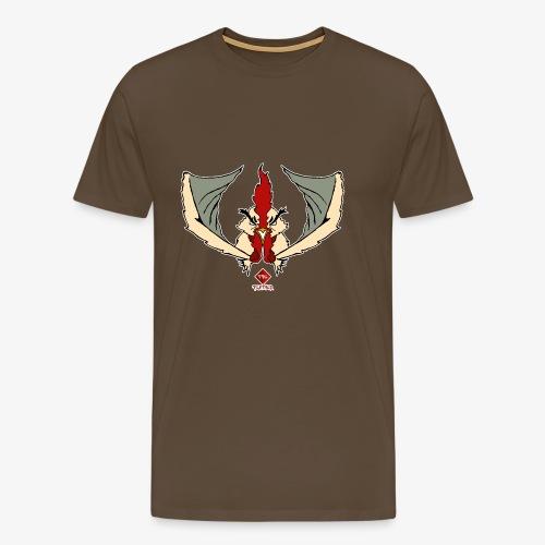 Fire Feather - Camiseta premium hombre