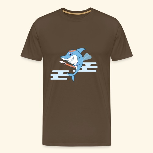 The Shark bodyguard - Men's Premium T-Shirt