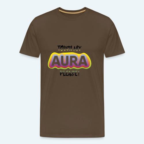 touch my AURA - Männer Premium T-Shirt