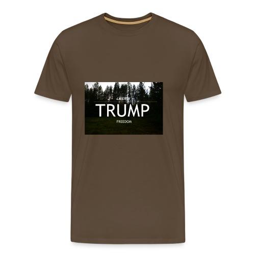 TRUMP, Freedom & Liberty - Men's Premium T-Shirt