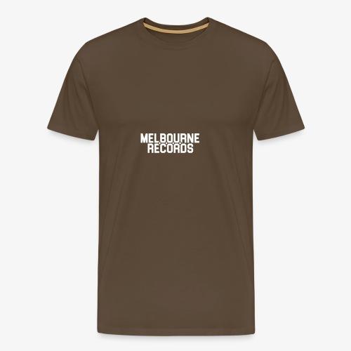 Melbourne Records - Men's Premium T-Shirt