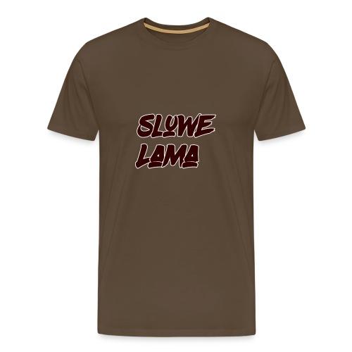 SluweLama - Mannen Premium T-shirt