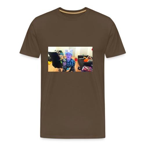 kniv mannen - Premium T-skjorte for menn