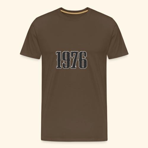 1976 - Mannen Premium T-shirt