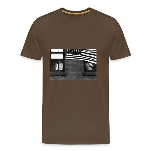 ROBERT FRANK - Maglietta Premium da uomo