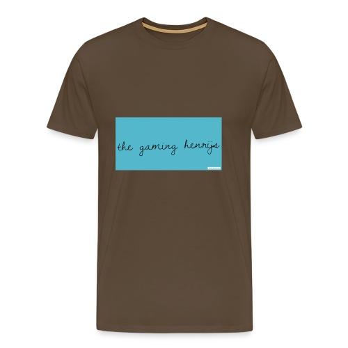 thegaminhenrijs merch - Men's Premium T-Shirt