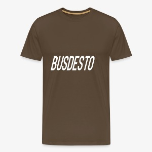 Busdesto plain shirt apparel - Men's Premium T-Shirt