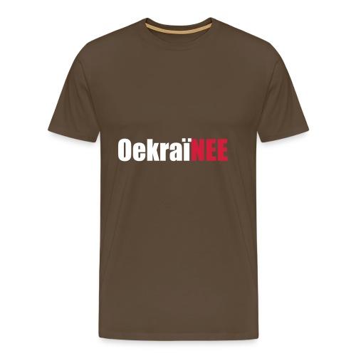 Oekraine Hoodie - Mannen Premium T-shirt