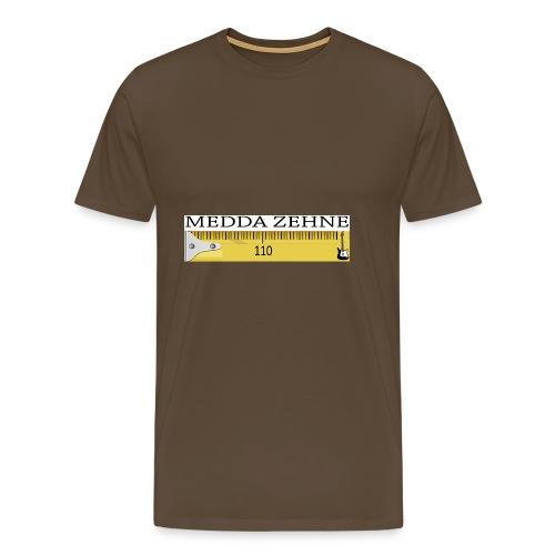 MEDDA ZEHNE - Männer Premium T-Shirt