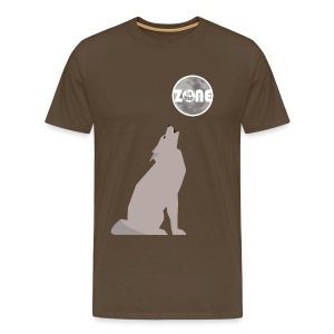In the Zone Wolf 2 - Camiseta premium hombre