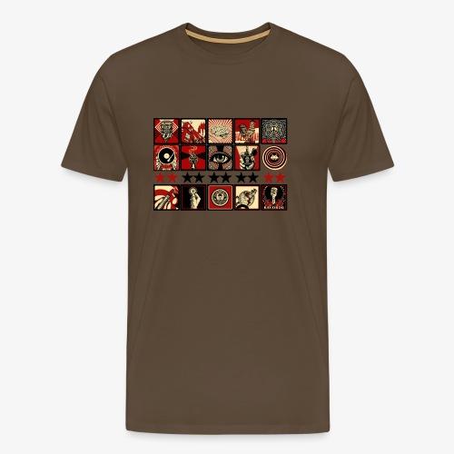 14 ONE First Strike - Männer Premium T-Shirt