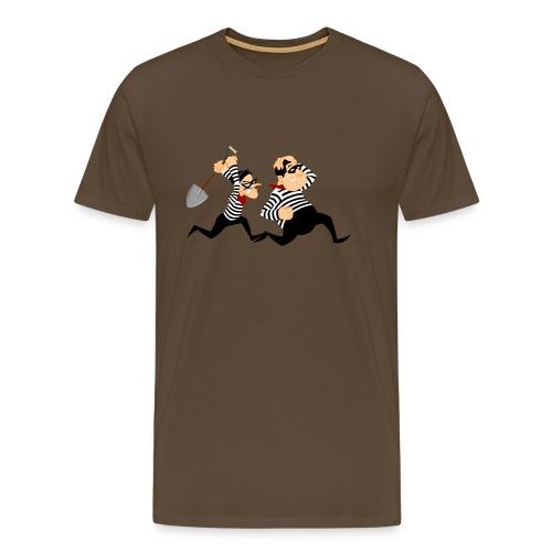 crime - Mannen Premium T-shirt