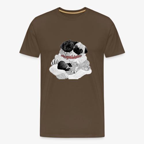 Mopsi - Männer Premium T-Shirt