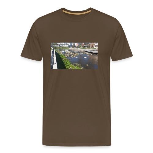 Norrtäljeån - Premium-T-shirt herr