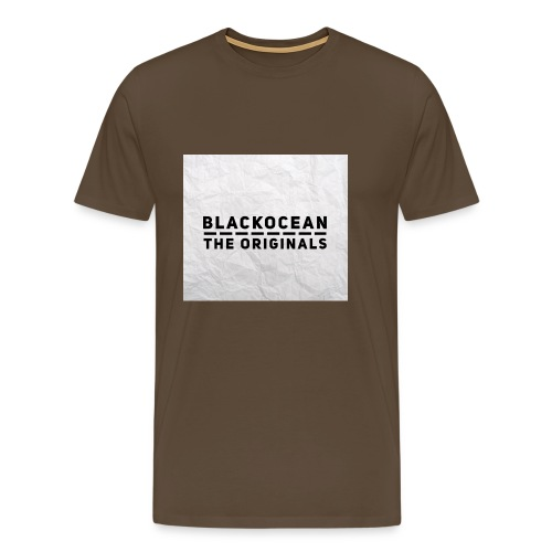 "BlackOcean ""The Originals"" Kollektion - Männer Premium T-Shirt"