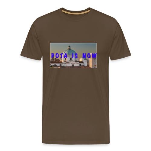 POTA IS NOW - Maglietta Premium da uomo