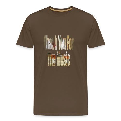 Thank You For The Music - Men's Premium T-Shirt