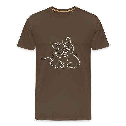 Katze / Kätzchen 0001 - Männer Premium T-Shirt