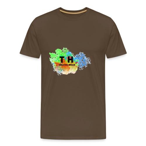 TH CREATIV DESIGN LOGO - Männer Premium T-Shirt