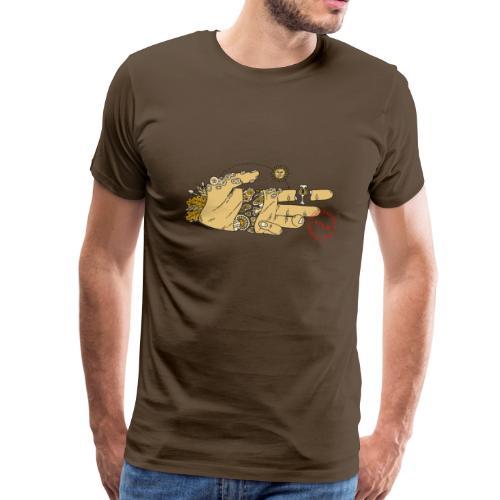 Vild Standard - Premium-T-shirt herr