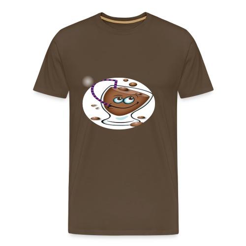 chocolate - Herre premium T-shirt