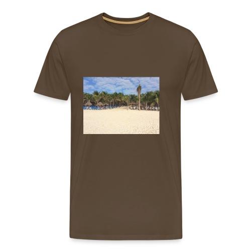 Strandweg - Männer Premium T-Shirt