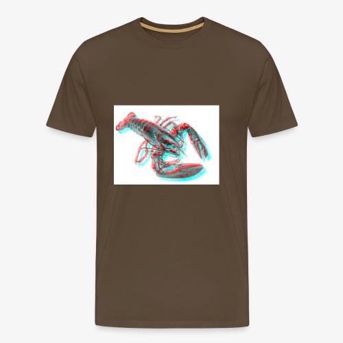 Homard 3D - T-shirt Premium Homme