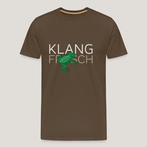 Klangfrosch - Männer Premium T-Shirt