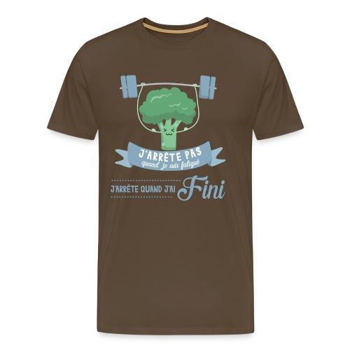 J'arrête quand J'ai fini - T-shirt Premium Homme