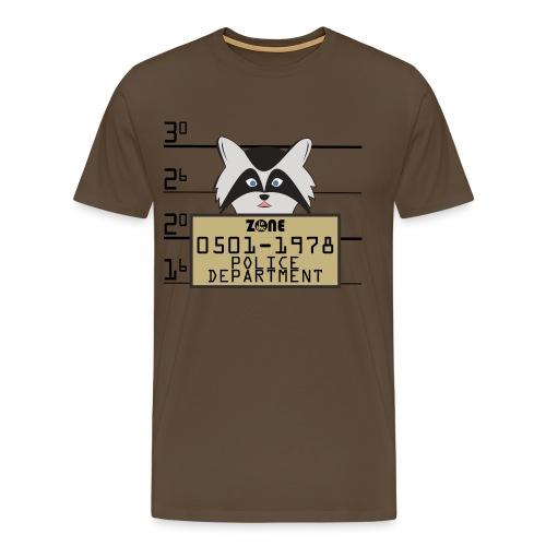 In the Zone Raccoon - Camiseta premium hombre