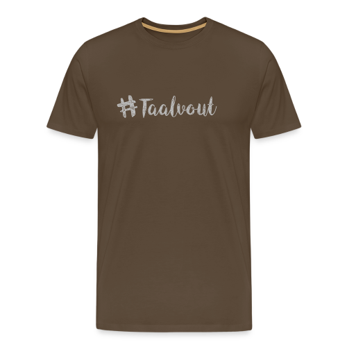 Taalvout - Mannen Premium T-shirt