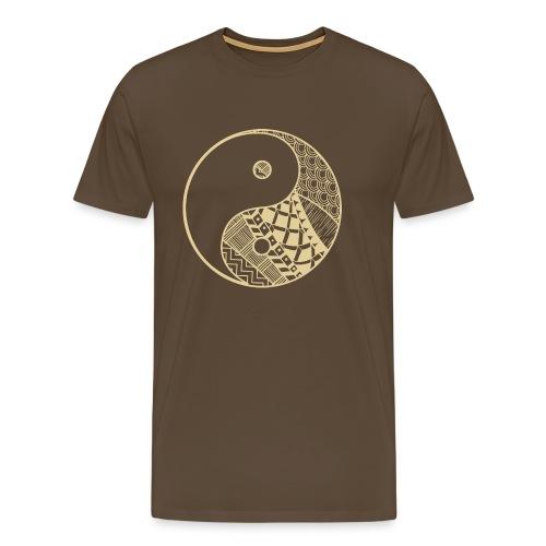 Ying Yang - Männer Premium T-Shirt