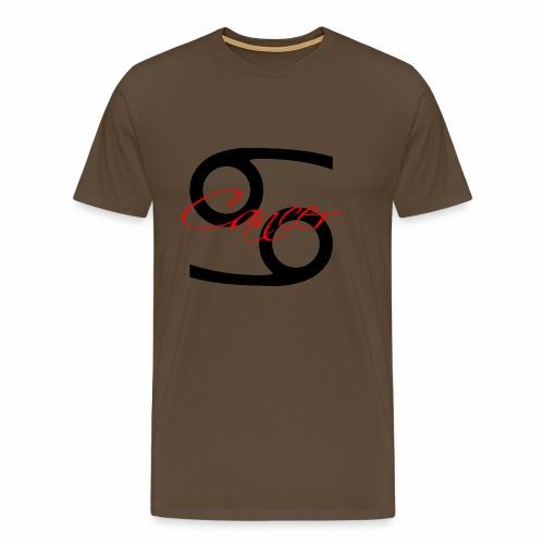Cancer, by SBDesigns - Men's Premium T-Shirt
