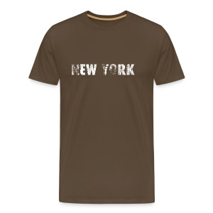 2571 New York - Männer Premium T-Shirt