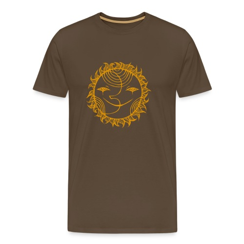 Golden Sunmoon Rising - Men's Premium T-Shirt