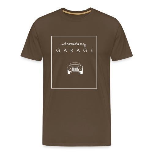 Welcome to my GARAGE - Autoliebhaber - Männer Premium T-Shirt