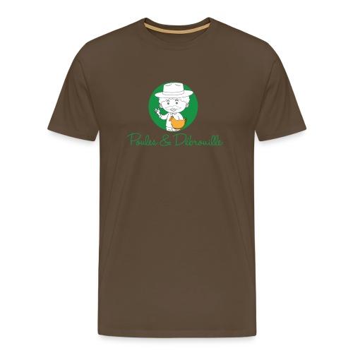poules et débrouilles - T-shirt Premium Homme